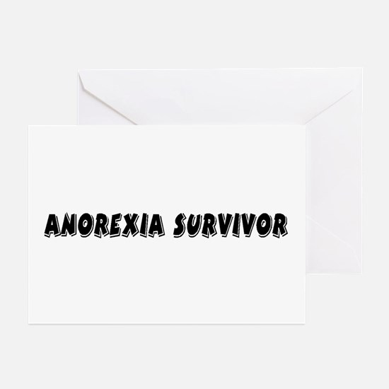 Anorexia Survivor Greeting Cards (Pk of 10)