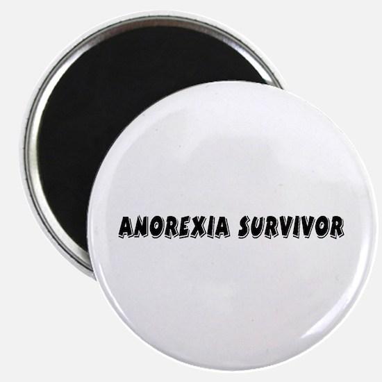 Anorexia Survivor Magnet