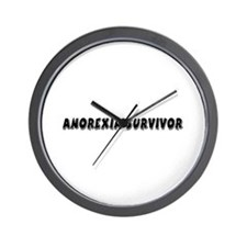 Anorexia Survivor Wall Clock