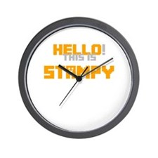 Hello! This is Stampy Wall Clock
