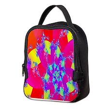 Summer Beauty Neoprene Lunch Bag