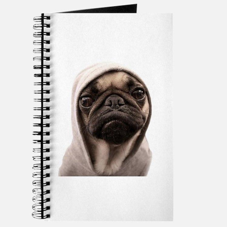 Cute Funny pug Journal