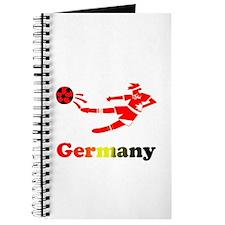 German Soccer Player Journal
