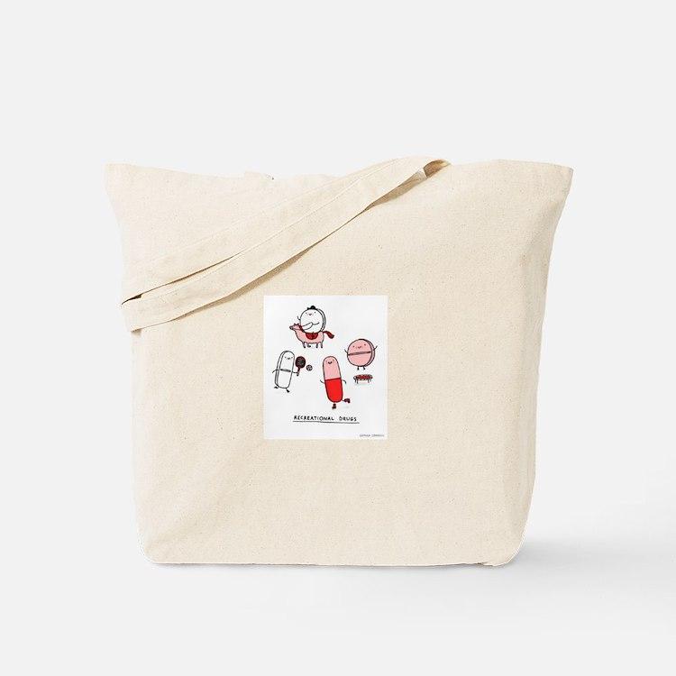 Cute Pills Tote Bag