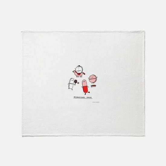 Unique Funny puns Throw Blanket