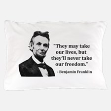 Abraham Lincoln Troll Quote Pillow Case