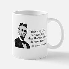 Abraham Lincoln Troll Quote Mugs