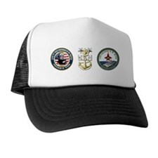 CVN-77 USS George H.W. Bush Trucker Hat