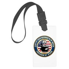 CVN-77 USS George H.W. Bush Luggage Tag
