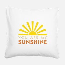My Sunshine Square Canvas Pillow
