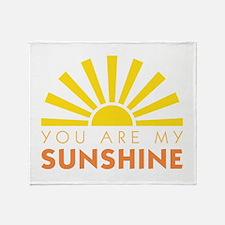 My Sunshine Throw Blanket