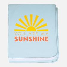 My Sunshine baby blanket