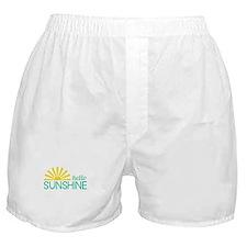 Hello Sunshine Boxer Shorts