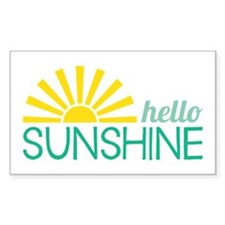 Hello Sunshine Decal