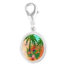 Tropical summer design Charms