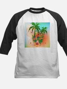 Tropical summer design Baseball Jersey