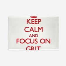 Keep Calm and focus on Grit Magnets