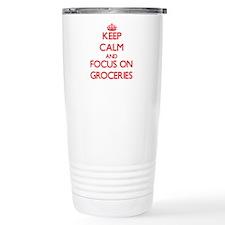 Funny Viande Travel Mug