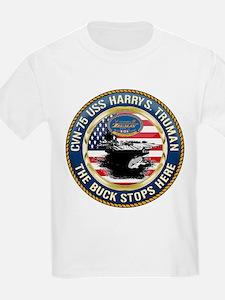 CVN-75 USS Harry S. Truman T-Shirt