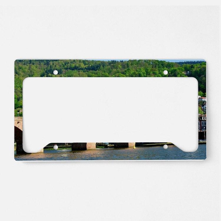 Cute Heidelberg License Plate Holder