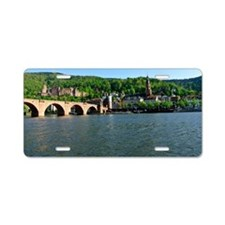 Cute Castle germany Aluminum License Plate
