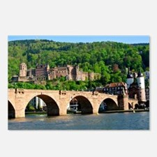 Cute Castle germany Postcards (Package of 8)