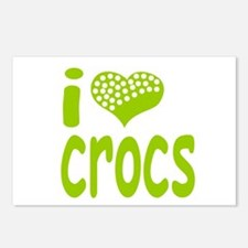 I love Crocs Postcards (Package of 8)