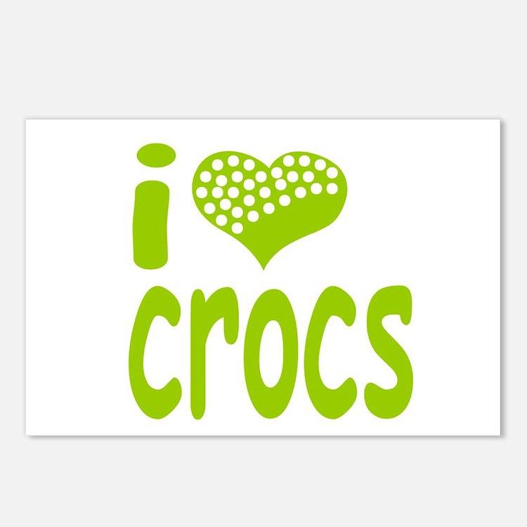 I love Crocs Postcards (Package of 8)