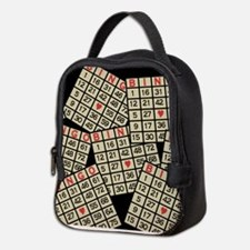 Cute Play bingo Neoprene Lunch Bag