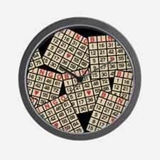 Cute Bingo game Wall Clock