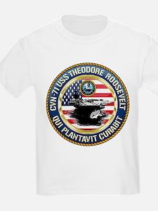 CVN-71 USS Theodore Roosevelt T-Shirt