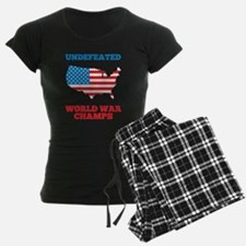 Undefeated World War Champs Pajamas