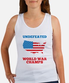 Undefeated World War Champs Tank Top