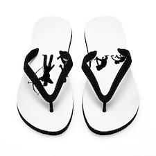 Cute Evolution Flip Flops