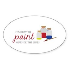 Paint Outside Lines Decal