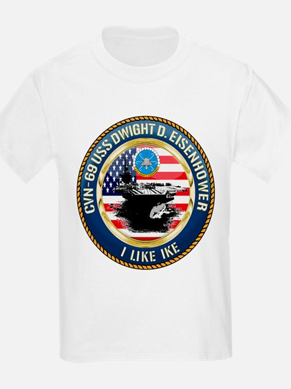 CVN-69 USS Eisenhower T-Shirt