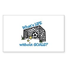 Without Goals Decal