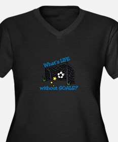 Without Goals Plus Size T-Shirt