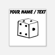 Custom Dice Sticker