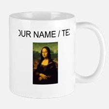 Custom Mona Lisa Oil Painting Mugs