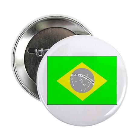"""Brazilian Pride 2.25"""" Button"""