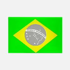Brazilian Pride Rectangle Magnet