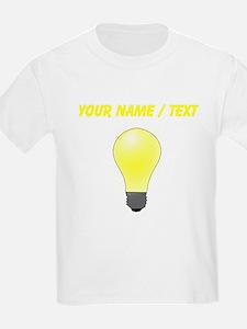 Custom Lightbulb T-Shirt