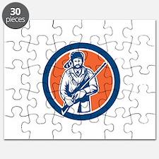 Davy Crockett American Frontiersman Puzzle