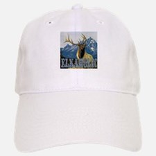 Teton Elk elkaholic gifts Baseball Baseball Cap