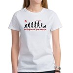WESTIE Dog Evolution -Women's T-Shirt