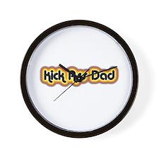 Kick Ass Dad Wall Clock