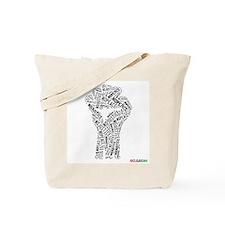 NO JUSTICE NO PEACE Fist Tote Bag