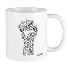 NO JUSTICE NO PEACE Fist Mugs