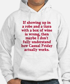 Casual Friday Hoodie Sweatshirt